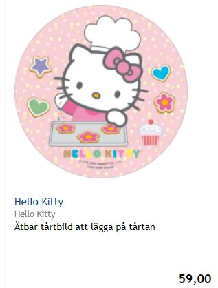 hello kitty tårtbild 1