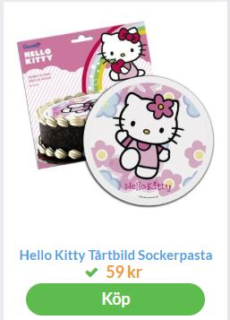 hello kitty tårtiblder 4