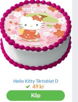 hello kitty till tårta 3