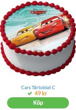 bilar tårtbilder 3