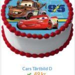 tårtbilder med bilar 2
