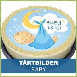 babybilder på tårta