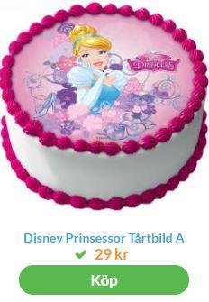 disney prinsessa tårtbild 1