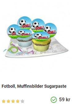 fotboll muffins