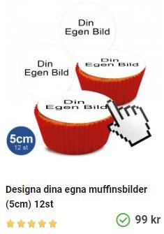 muffinsbilder med egna bilder