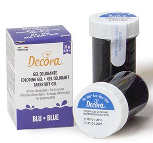 pastafärg blå