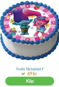 trolls2 bild till tårta