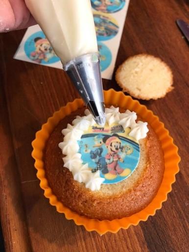 spritsa på muffins