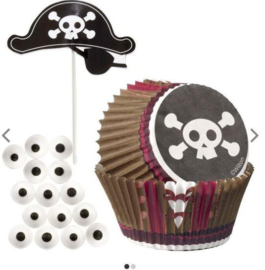 pirat muffinsset