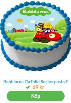 Babblarna tårtbilder
