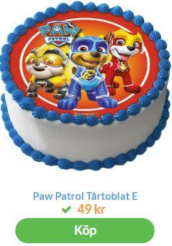 paw patrol bild till tårta 3