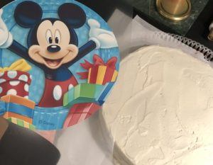 mussepiggtårta med tårtbild