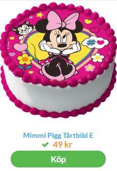 mimmi pigg tårtbild
