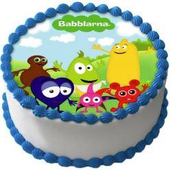 Babblarna tårtbild