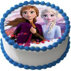 Frost ätbar bild till tårta