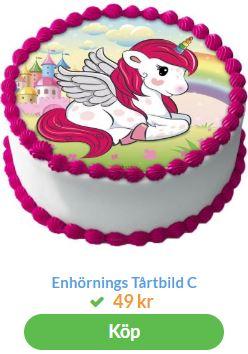unicorn bildtårta 4