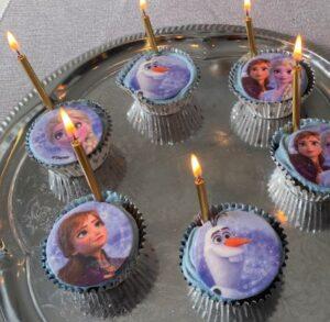 frost små muffins