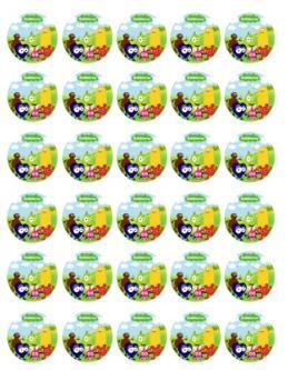 ätbar muffinsbild babblar