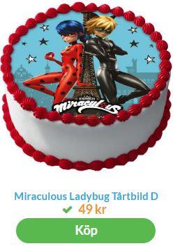 ladybug tårtbild 1