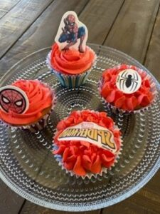 spindelmannen muffins 2