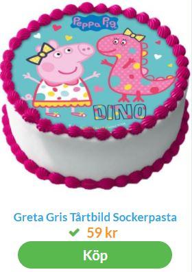 greta gris tårtbild 1